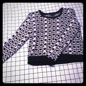 Forever21 Geometric sweater